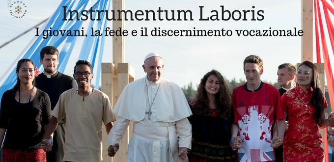 Se publica el Instrumentum laboris del Sínodo para los jóvenes