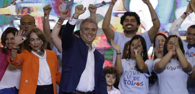 Iván Duque será el próximo presidente de Colombia