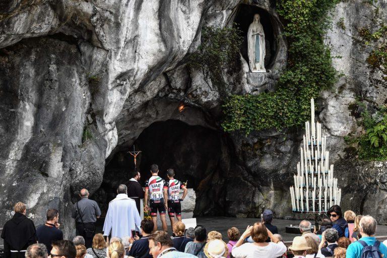 El italiano Oliviero Troia (C) y el italiano Marco Marcato (R) (Getty Images)