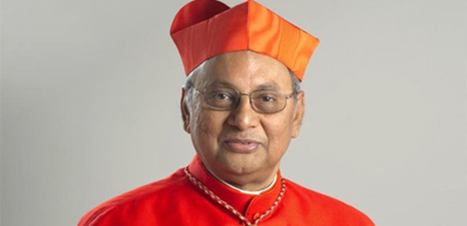 Cardenal Ranjith apoya la pena de muerte para narcotraficantes y mafiosos que delinquen desde la cárcel