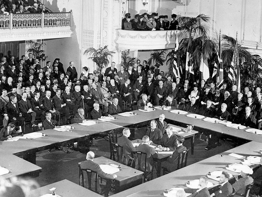 La exclusión de la Santa Sede de la Conferencia de Versalles por orden masónica