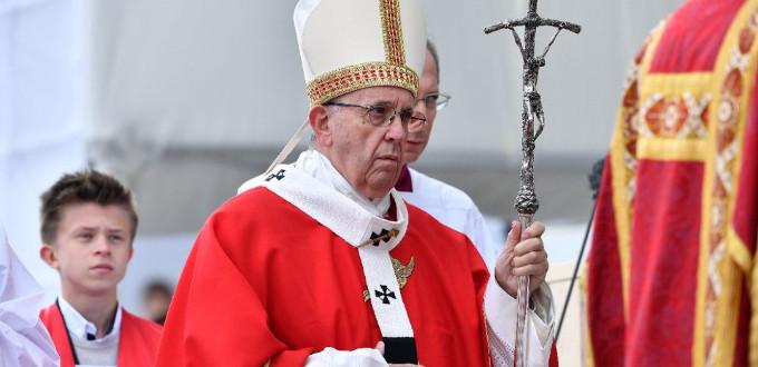 El Papa en Tallin: «sean un pueblo santo, con el corazón abierto a Dios»