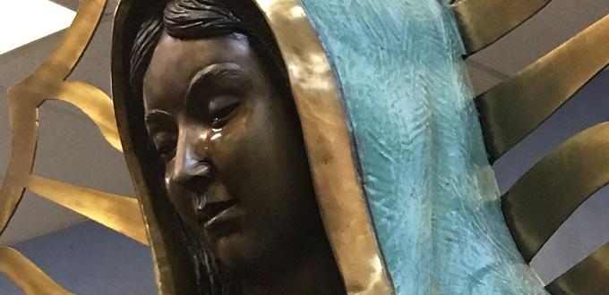 Obispo no ha encontrado «causas naturales» para el aceite emitido por los ojos de la estatua de María
