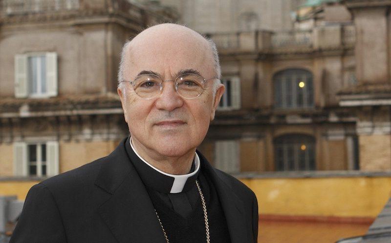 Mons. Viganó pide a Mons. McCarrick que se arrepienta públicamente