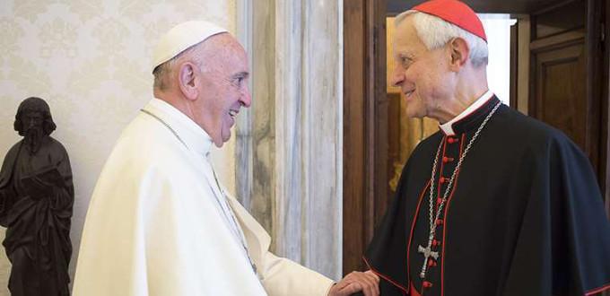 El Papa defiende la actuación de Wuerl ante los casos de abusos pero acepta su renuncia
