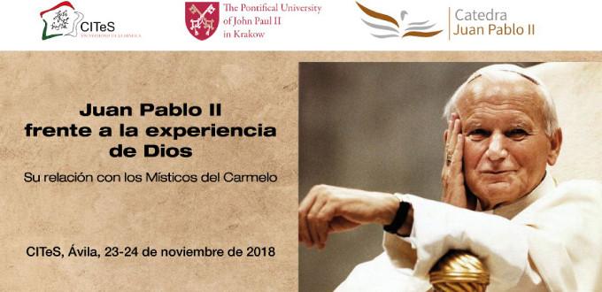 La Universidad de la Mística en Ávila inaugurará la Cátedra «Juan Pablo II»