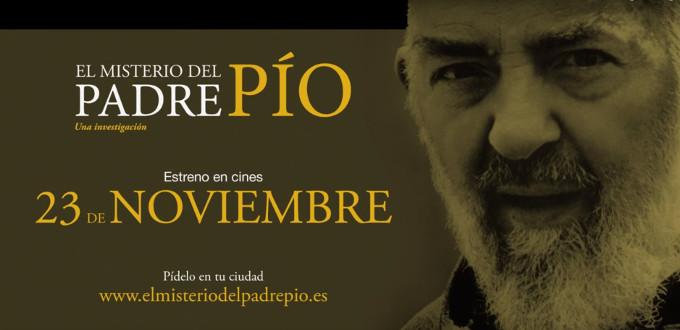 «El Misterio del Padre Pío» se estrena en los cines el próximo viernes 23 de noviembre