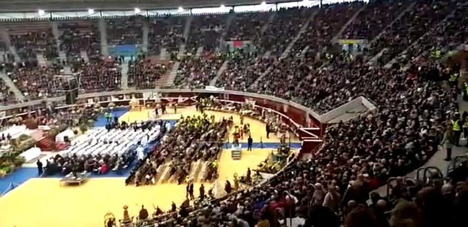 Misa multitudinaria para abrir la Misión Diocesana Euntes en La Rioja