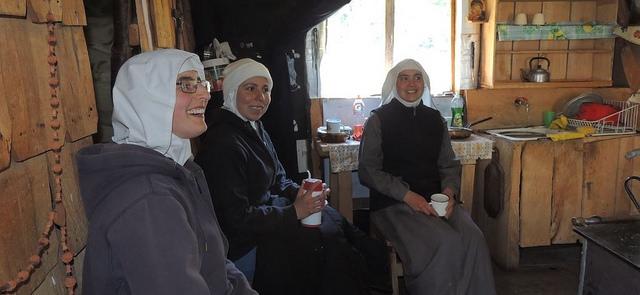 Monasterio fundado en la Patagonia chilena
