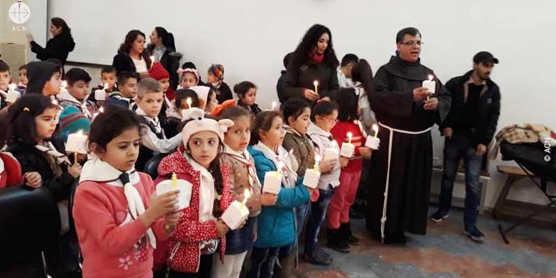 «Velas por la paz en Siria» es la nueva campaña internacional de Ayuda a la Iglesia Necesitada