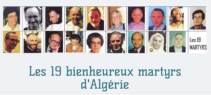 El día de la Inmaculada serán beatificados en Orán 19 mártires de Argelia