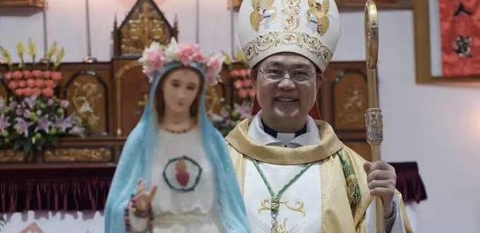 Obispo Shao y el padre Lu Danhua liberados por las autoridades chinas
