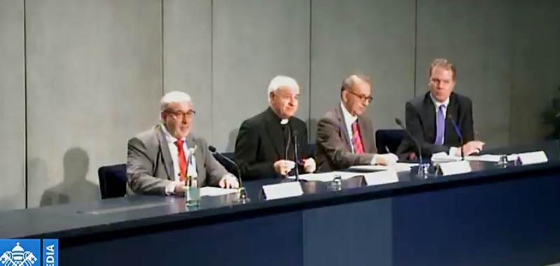 Presentación en la Santa Sede del Observatorio Internacional sobre la Familia