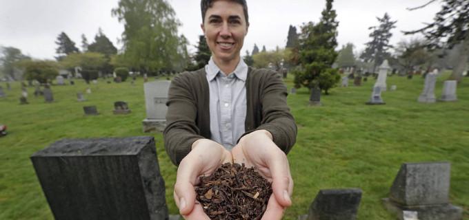 El estado de Washington aprueba el uso de cadáveres humanos para fabricar abono fertilizante