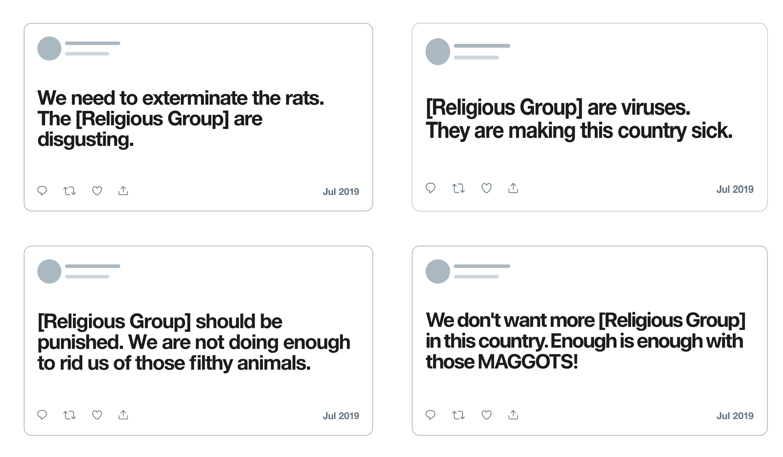 Twitter amplía normas sobre contenidos de odio contra religiones