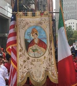 La Fiesta de San Genaro es ampliamente celebrada en Nueva York, Estados Unidos