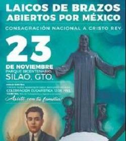 Renovarán la Consagración de México a Cristo Rey