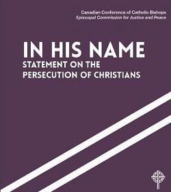Obispos de Canadá publican declaración sobre la persecución religiosa