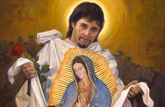Juan Diego Cuauhtlatoatzin Santo Vidente De La Virgen De