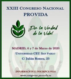 Se desarrolla en España la edición número 23 del Congreso Nacional Provida