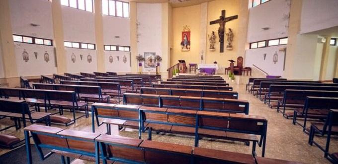 Coronavirus en Cádiz: La Policía interrumpe una misa en la parroquia de La Laguna y obliga a su desalojo