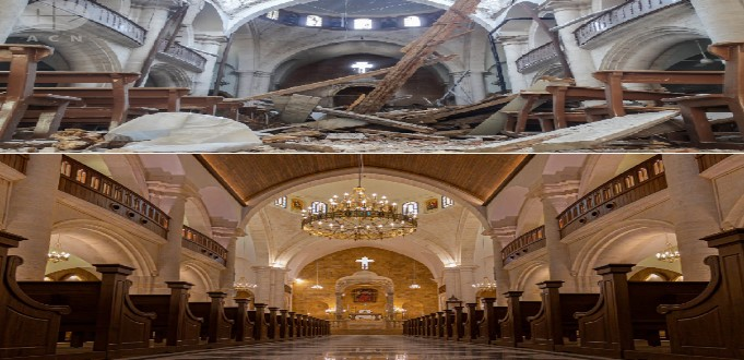 Catedral de San Elías, en Alepo