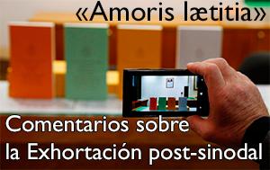 Comentarios a la Exortación Amoris laetitia